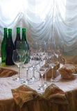 Avant l'essai du vin Photographie stock libre de droits