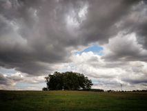 Avant la tempête Photos libres de droits