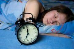 Avant le réveil Photo libre de droits