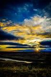 Avant les bad-lands II Image libre de droits