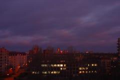 Avant lever de soleil Photos libres de droits
