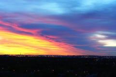Avant lever de soleil Photo libre de droits