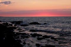 Avant lever de soleil Images stock