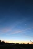 Avant lever de soleil Photos stock