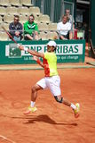 Avant-main de Fernando Verdasco photo stock