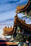 Avant-toit du palais impérial. images stock