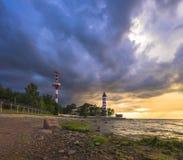 Avant une tempête photo libre de droits