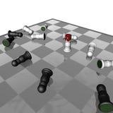 Avantage 2 d'échecs Photo stock