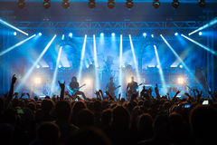 Avantasia Ghostlights World Tour 2016 in Bratislava, Slovakia Royalty Free Stock Photo