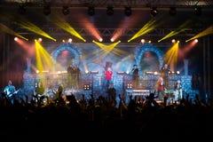 Avantasia Ghostlights World Tour 2016 in Bratislava, Slovakia Royalty Free Stock Photography