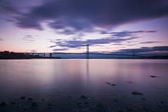 Avanti il ponticello della strada a Edinburgh Scozia fotografia stock libera da diritti