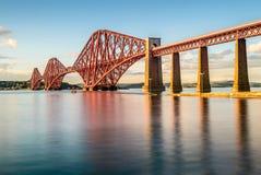 Avanti ponte della ferrovia, Scozia, Regno Unito Immagini Stock Libere da Diritti