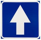 In avanti segnale stradale Immagini Stock