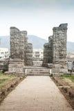 Avantisvara-Tempel Kaschmir Indien Lizenzfreie Stockfotos
