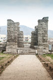 Avantisvara temple kashmir India Royalty Free Stock Photos