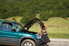 Avaria do carro Fotografia de Stock Royalty Free