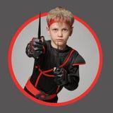 Avatar av den unga ninjaen arkivbilder