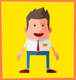 Avatar character design Royalty Free Stock Photo