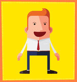 Avatar character design Royalty Free Stock Image