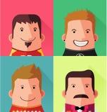 Avatar character design Stock Photos