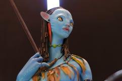 Avatar Character Figurine Stock Image