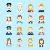 Avatar de profession illustration de vecteur