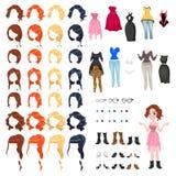 Avatar de uma mulher Imagem de Stock Royalty Free