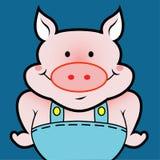 Avatar del cerdo Fotos de archivo