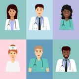 Avatar 3 del equipo médico libre illustration