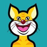 Avatar del gato Fotos de archivo