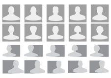Avatar di profilo di vettore Fotografia Stock Libera da Diritti