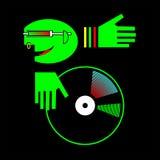 Avatar du DJ Illustration Stock