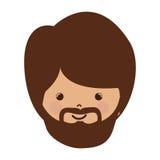Avatar face of jesus christ Stock Photo