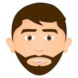 Happy man avatar Stock Image