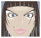 Avatar hermoso de la mujer Imagen de archivo libre de regalías