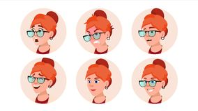 Avatar Icon Woman Vector. Human Emotions. Anonymous Female. Isolated Cartoon Character Illustration. Avatar Icon Woman Vector. Icon Placeholder. Person Royalty Free Stock Photo