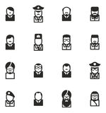Avatar Icons Famous Dictators Stock Images