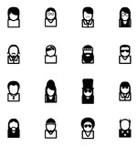 Avatar Icons Famous Musicians Set 2 Royalty Free Stock Image