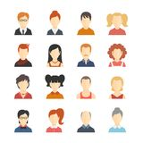 Avatar Icons Set Stock Photography