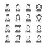 Avatar Icons Set Royalty Free Stock Image