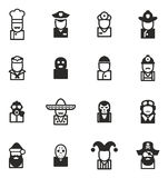 Avatar Icons Set 1. This image is a  illustration and can be scaled to any size without loss of resolution Stock Photo