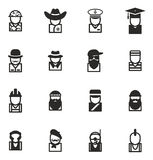Avatar Icons Set 2 Royalty Free Stock Photography