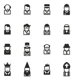 Avatar Icons Set 4 Royalty Free Stock Photography