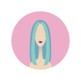 Avatar ikona Zdjęcia Royalty Free
