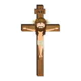 avatar kruisiging van Jesus Christ Stock Foto's