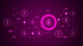 avatar lotnika ikona Od Avatars ustawiaj?cych royalty ilustracja