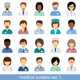 Avatar medici Immagini Stock Libere da Diritti