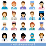 Avatar medici Fotografia Stock Libera da Diritti