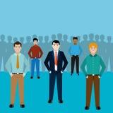 Avatar men design. Avatar men of diversity people and multiracial theme Vector illustration royalty free illustration