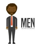 Avatar of men Stock Photos